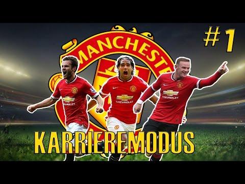 SO MUSS DAS MOYES! ► Let's Play FIFA 15 Karrieremodus (Manchester United) [Deutsch] #01