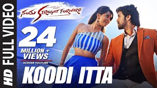 Koodi Itta Video Song HD Santhu Straight Forward | Yash, Radhika Pandit | V. Harikrishna