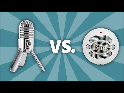 Unboxing Samson Meteor Mic Vs. Blue Snowball Mic - Microphone Comparison. Sound Test. and Giveaway
