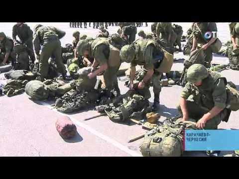 Социальный репортаж: В Карачаево-Черкесии несет службу уникальная горная разведрота