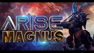 Ar1Se- The Legendary Magnus Player - World's Best Magnus - EPIC Gameplay Dota 2
