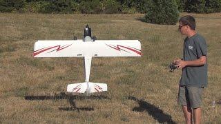 E-Flite Timber 3D and Bush Flying Demo