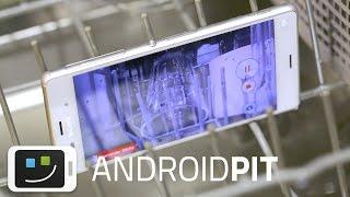 Sony Xperia® Z3 - Prueba de agua... ¡en el lavavajillas!