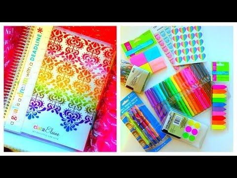 How I Stay Organized ♡ Erin Condren Life Planner 2014 Unboxing & Review