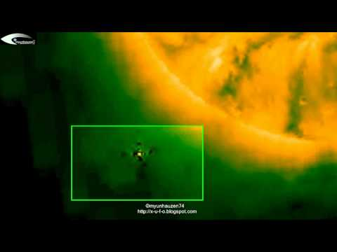 UFO and Aliens near the Sun - Review for September 23, 2012.