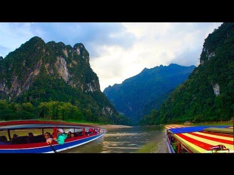 2015 Travel two days/nights to from Sapa to Vientiane. Ob nub Ob hmo thiaj txog Vien. 6/6 (HD)