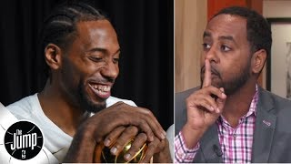 No matter where Kawhi goes, 'y'all don't get to say anything' - Amin Elhassan | The Jump
