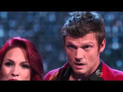 Dancing WIth The Stars Season 21 Week 11 Nick Carter & Sharna 'Jive' (Finals)
