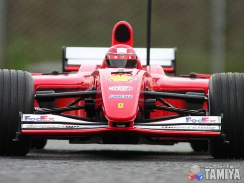 Tamiya F201 - RC Ferrari F2001 Formula One (F1)