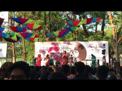 Bablu Ki Shaadi - Aankh Micholi live at Mood Indigo 2017 (International Music Fest)
