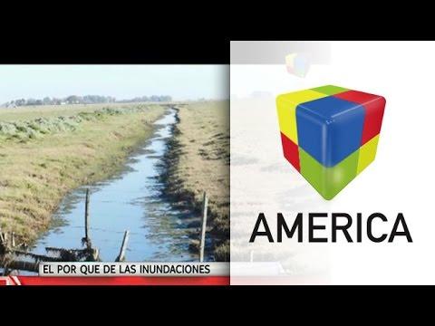 Canales clandestinos, una de las causas de las inundaciones