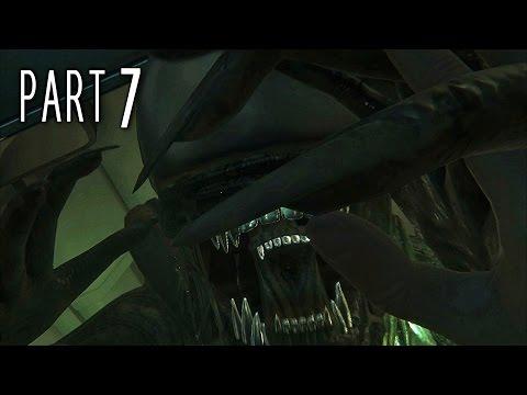 Alien Isolation Walkthrough Gameplay Part 7 - Hide N Seek (PS4)
