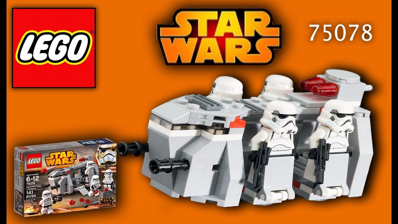 [Lego Star Wars 75078 Imperial Troop Transport - 2016 Lego St...] Video