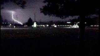 Severe Thunderstorm March 20th 2011 Elkhart, Indiana