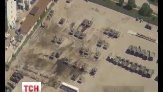 Аеророзвідка полку «Дніпро 1» виявила майже 200 одиниць бойової техніки поблизу Луганська - (видео)