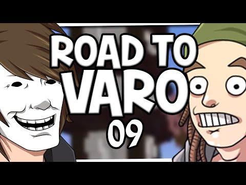ROAD TO VARO #09 ? Wir verbrennen uns! - Minecraft 1 VS 1 mit ungespielt - auf gamiano.de