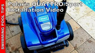 Polaris QUATTRO Sport Set Up and Installation Video