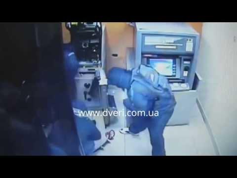 Взрыв, взлом банкомата.  Топ ограбления банкоматов.