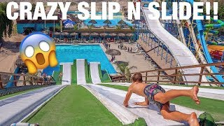 CRAZY SLIP N SLIDE IN MEXICO!!