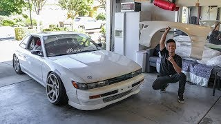Widebody S13 - Front Fender Install