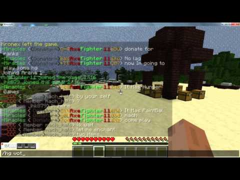 1.8.1 Minecraft Cracked 24/7 Server --- PaintBall, Hunger Games --- MiraclePvp