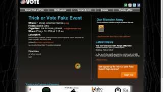 How to Import / Export Monster to Trick or Vote