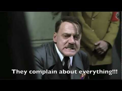 Hitler's Reaction to Gen4 Glocks, the 45. ACP, and Americans