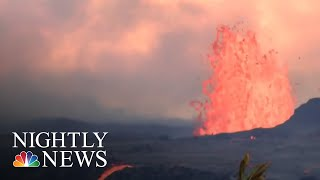 National Guard: Hawaii Residents May Soon Be Trapped Following Volcanic Eruption | NBC Nightly News