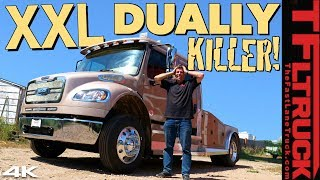 Here's Why This MONSTER Freightliner Will Make You Hate Your Dually Pickup!