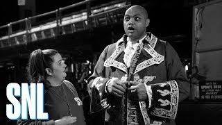 Bonus: Aidy Bryant Whips Charles Barkley into Hosting Shape - SNL