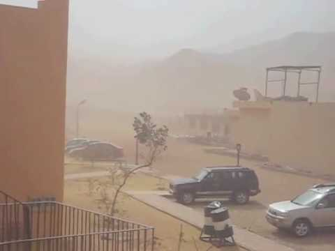 Sand storm blasts Egypt Red Sea coast
