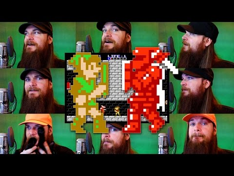 Zelda 2: The Adventure of Link - Temple/Palace Theme Acapella