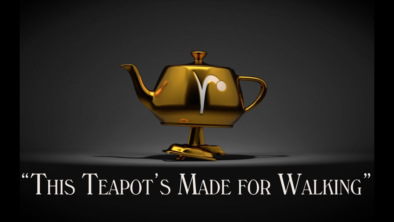 This Teapot's Made for Walking
