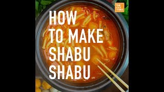 How to Make Shabu Shabu at Home (Easy Version)
