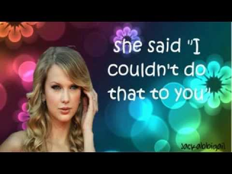 Taylor Swift - Brought Up That Way