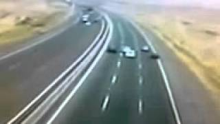 very bad car accident 240 top speed and crashed  car crash