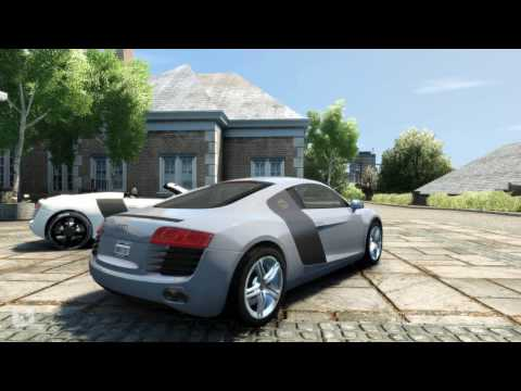 GTA 4 with Anti Aliasing - Audi R8 HQ
