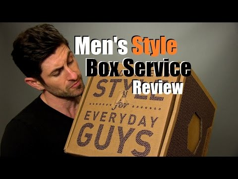 Men's Curated Box Service Review   Men's Style Lab Unboxing