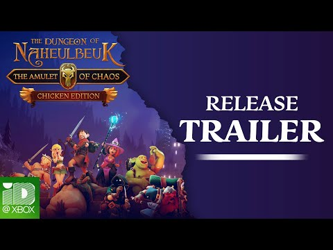 The Dungeon of Naheulbeuk: The Amulet of Chaos - Xbox One trailer