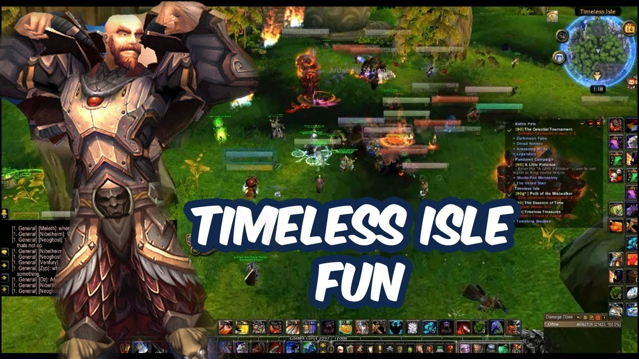 wow how to get to timeless isle legion
