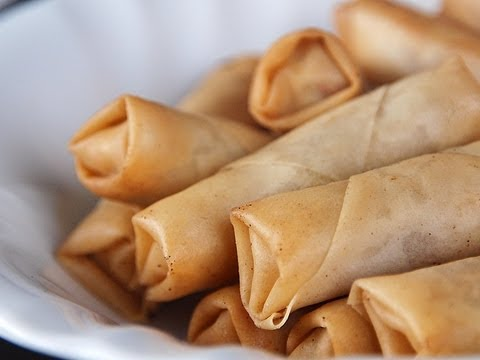 Chinese Food Spring Rolls Recipe