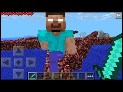 Herobrine Added in Minecraft pe 15.1 ??   MCPE ( pocket edition )   how to spawn herobrine