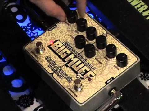 Electro Harmonix Germanium 4 Big Muff guitar effects pedal demo