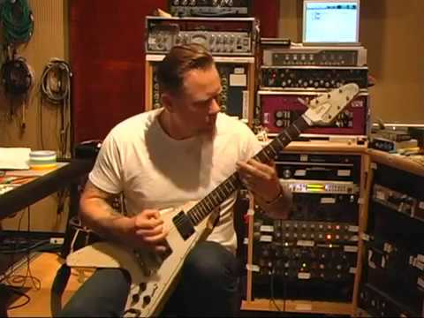 Making Magnetic : James Hetfield guitar and voice