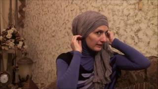 Hijab 2011- Tutorial # 10(Side Ruffle w/Flower)