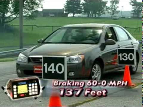 Motorweek Video of the 2005 Kia Spectra