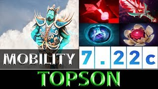 TOPSON [Storm Spirit] The Mobility Core Build ► Dota 2 7.22c