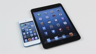 iPod Touch 5G vs iPad Mini