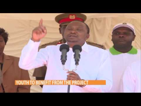 President Uhuru launches slum upgrading project in Mathare