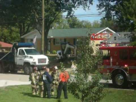 Highview Fire Dept. Gas Leak 9-15-11